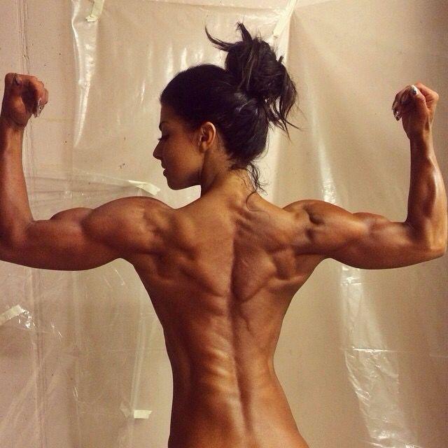 muscle bodybuilding women Back