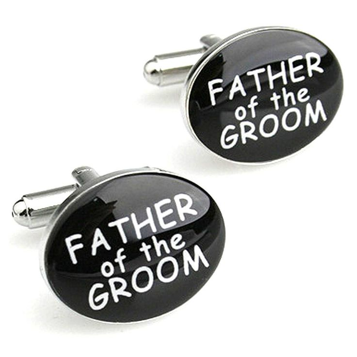 Wedding Series Father Of The Groom Cufflinks