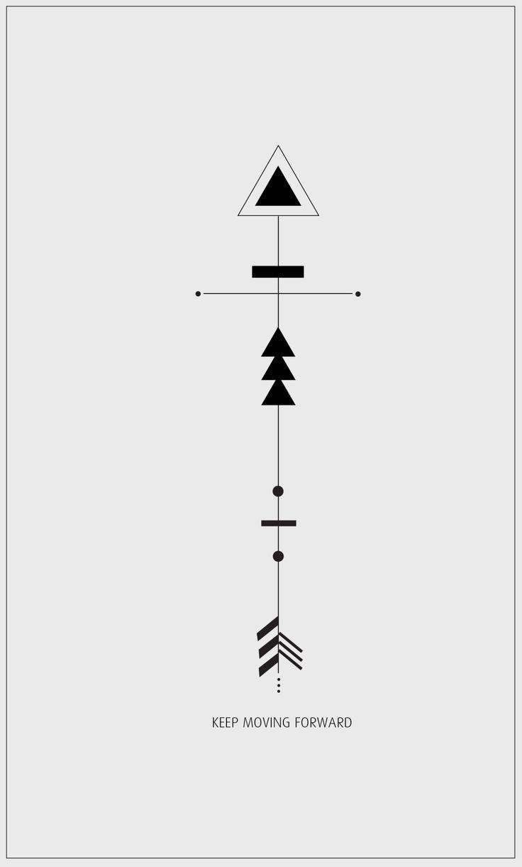 geometric tattoo triangle - Recherche Google