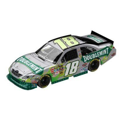 Kyle Busch 2011 Action 1:64 #18 Doublemint Gum Toyota Diecast CVS PHARMACY EXCLUSIVE - HARD TO FIND by LIONEL. $18.75. GREAT GIFT. GREAT COLLECTIBLE. ships fast. HARD TO FIND. Description:  Kyle Busch 2011 1:64 #18 Doublemint Gum Toyota Action Gold Series diecast by Lionel Nascar Collectables. Kyle Busch will be racing this Doublemint Gum paint scheme at Bristol Speedway in August and it will also hit the track at Darlington & Chicagoland for a total of three races i...