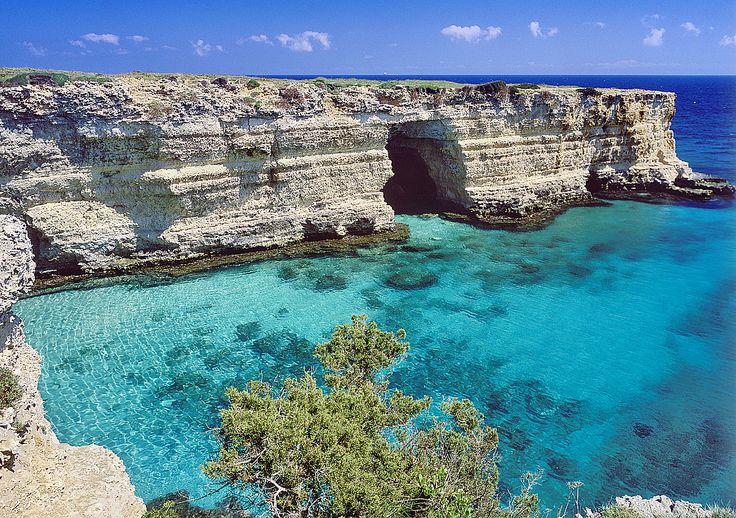 Scoprite le spiagge meravigliose del Salento! http://www.germanaviaggi.com/estate2015-puglia/