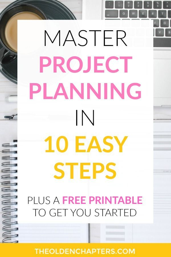 Master the Project Planning Process in 10 Easy Steps ...