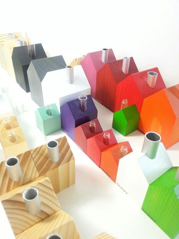 Kleine Häuser in zahlreichen Größen und Farben. Räucherhäuser. Blumenhäuser. Kerzenhäuser. Pyramidenhäuser. ... Little Houses by www.cultform-shop.de #häuser #haus #interior #design #handmade #manufaktur #minimal #musthave #geschenkidee