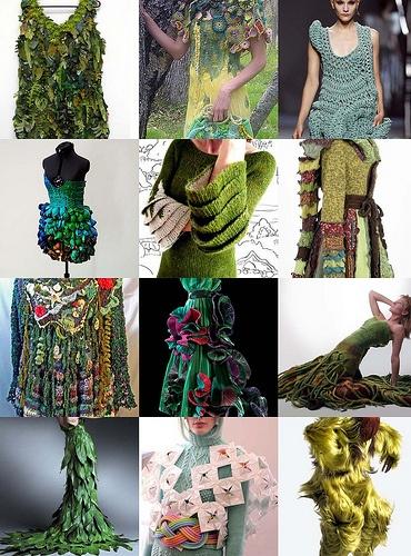 green wearable art <3