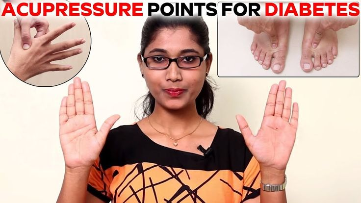 Acupressure Points for Diabetes Curing - Acupressure Points