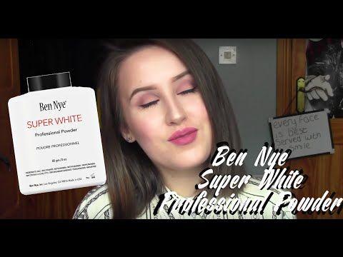 #MakeupMonday: Ben Nye Super White Pro Powder Review | Holly King