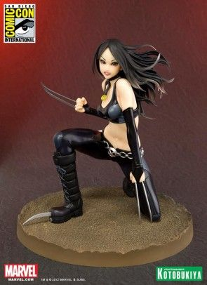 2012 SDCC Exclusive: X-23 X-Force Vers. Bishoujo Statue