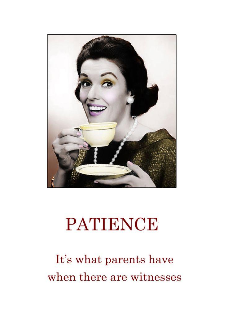 Humor Vintage Image Greeting Card Blank by LulusFiveandDime