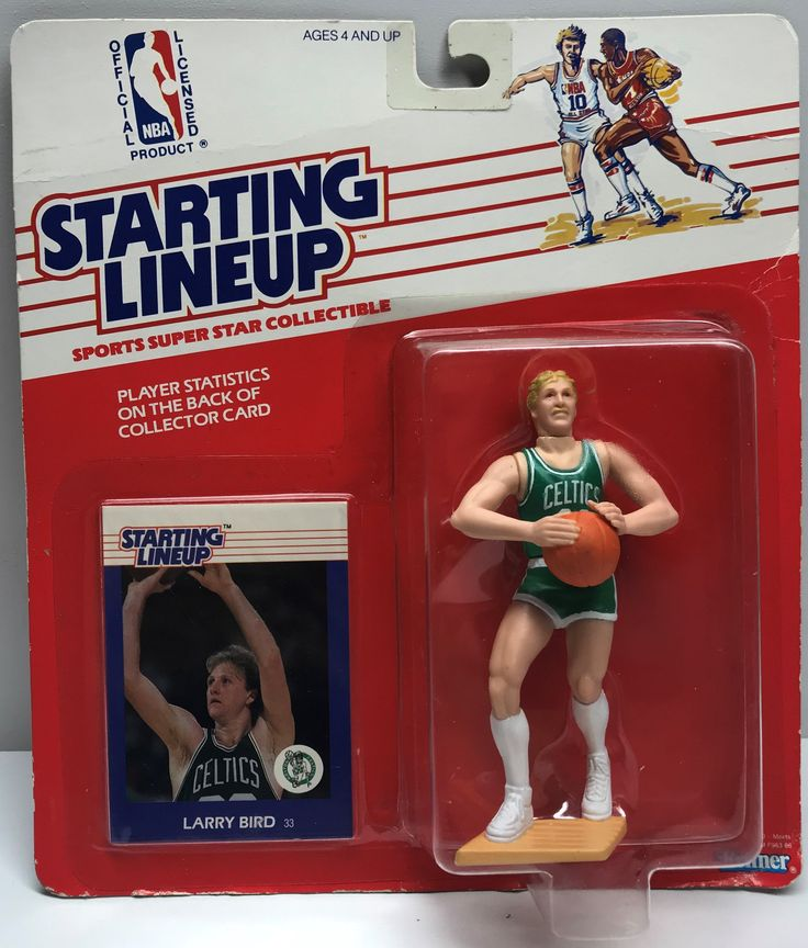 This just in at The Angry Spider Vintage Toy Store: TAS038043 - 1988 ...  Check it out here! http://theangryspider.com/products/tas038043-1988-kenner-starting-lineup-nba-boston-celtics-larry-bird?utm_campaign=social_autopilot&utm_source=pin&utm_medium=pin