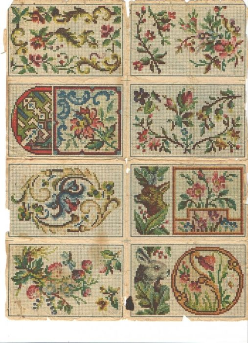 Berlin WoolWork Leporello ~ Pattern Book