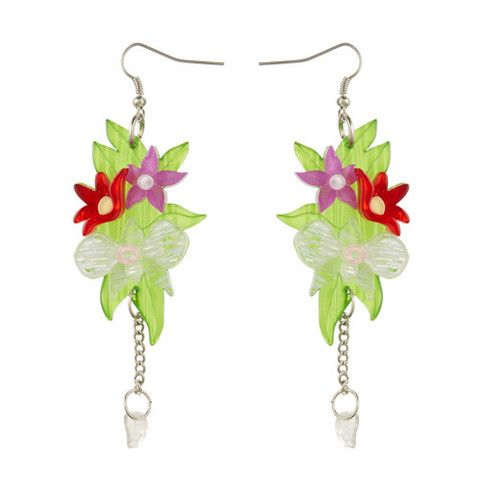 Erstwilder Limited Edition Orchid Bouquet Earrings, $34.95 (AUD)
