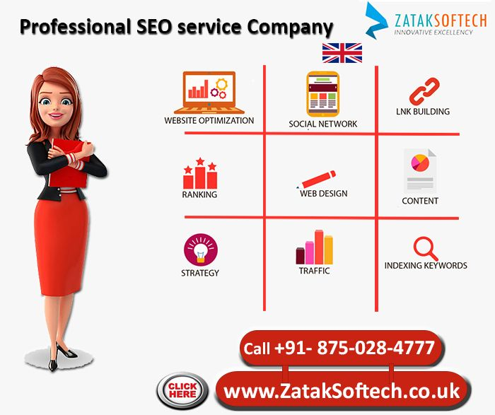 Professional SEO service Company  Being the finest Professional SEO service Company, we retain the up-to-date track of all the changes happening in the world of SEO. With repetition and involvement, we control these changes and apply them for the online achievement of businesses. Our professionals carrying the finest online SEO services, leave no pebble unturned for recording substantial enhancements in the search engine ranking of your website on Google and rest of the foremost search…