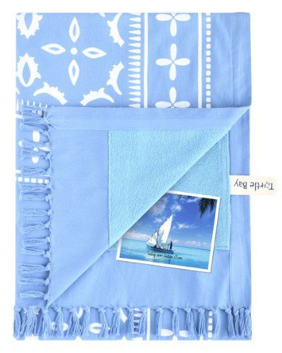 Turtle Bay – Kikoy Towel Hammam – Color : Marina Blue – Size : 95 x 170 cms #beach Turtle Bay - Kikoy Towel Hammam - Color : Marina Blue - Size : 95 x 170 cms Through a single weaving process, Turtle Bay Kikoys are the largest available on the market (40 x 70 in). Prior to assembly in our WFTO (World Fair Trade Organization, World Organization for Fair Trade) certified workshop, the absorbent towel and Kikoy are washed separately at high temperature, thus ensuring absorption, softn..