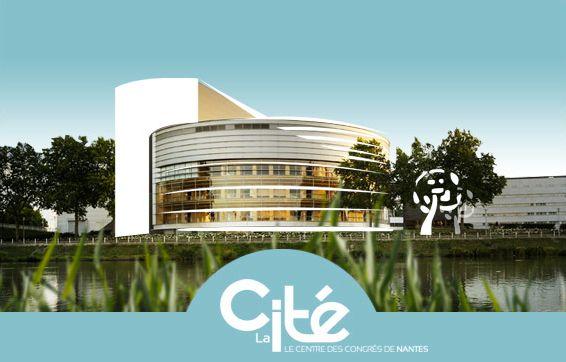 Poisson Bouge collabore avec l'agence Ponctuation pour la création et l'envoi des voeux de La Cité des Congrès de Nantes.