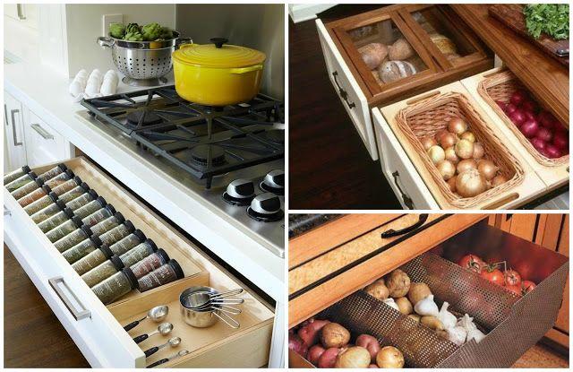 Jak urządzić małą kuchnie? Inspiracje | Grochem o Garnek