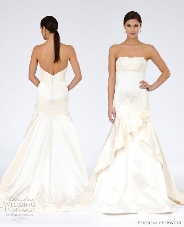 Priscilla of Boston Wedding Dresses Spring 2012 Bridal Collection   Wedding Inspirasi