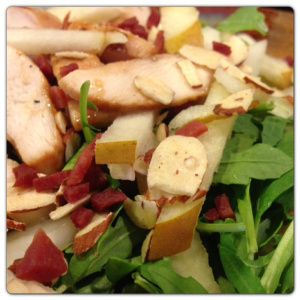 Food Prep & Meal Planning for Healthy Eating #fitfluential #eats: Chicken, Healthy Cooking, Healthy Eating, Pears Arugula, Food Prep, Arugula Salad, Healthy Recipes, Favorite Recipes, Meals Plans