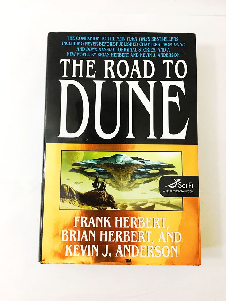 The Road to Dune. Frank Herbert. Vintage Dune hardback with dust jacket. Dune Chronicles. Brian Herbert. Kevin J. Anderson