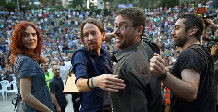 Pablo Iglesias y Albano Dante visibilizarán su distanciamiento participando en actos separados en la Diada
