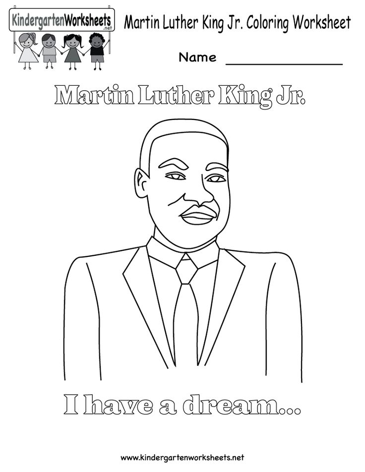 1000 images about martin luther king jr worksheet on for Martin luther coloring pages