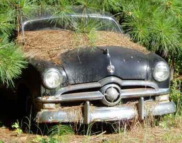 Antique Junk Yards | first one to sing wins of course the folks who purchased salvaged cars ...