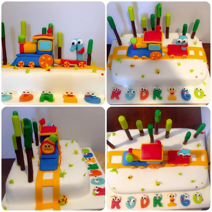 Bob train cake