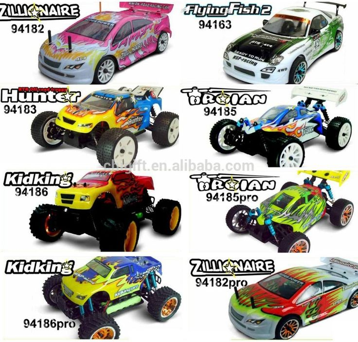 HSP RC Car Electric power nitro gas power 4WD RC Hobby CAR