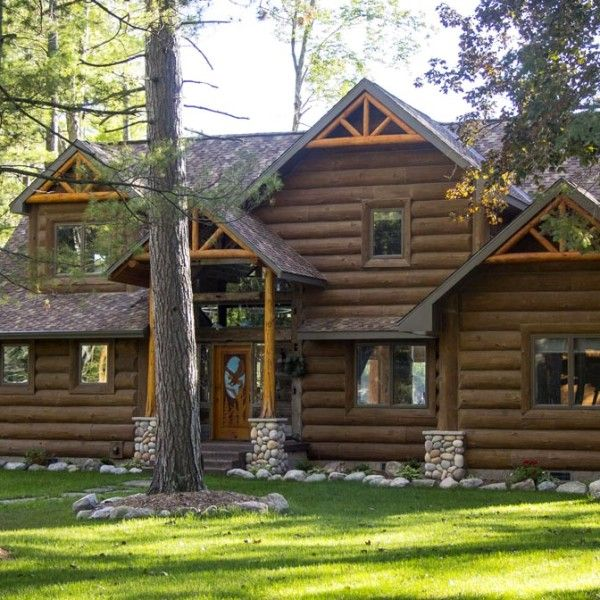 12 Best Concrete Log Siding Images On Pinterest Log
