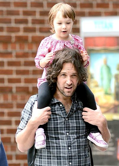 Rudd Rider Paul Rudd gave daughter Darby a life while out and about in New York City on June 14.