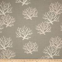 Premier Prints Isadella Coral Slub Coastal Grey/Natural