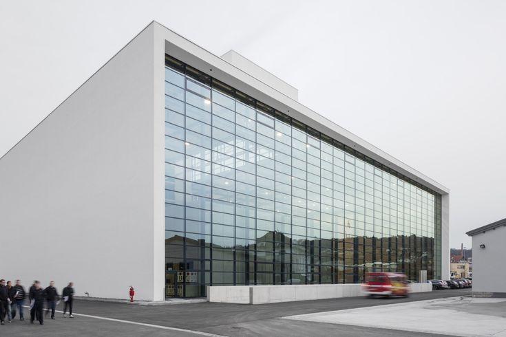 Gallery of State Fire Brigade School / gmp Architekten - 6