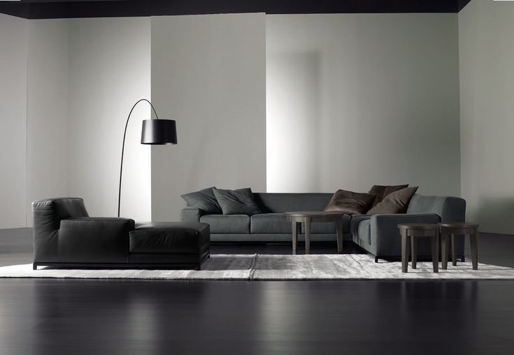 Frieman   Contemporary, Leather, Upholstery  Fabric, Sofas  Sectional by Meridiani