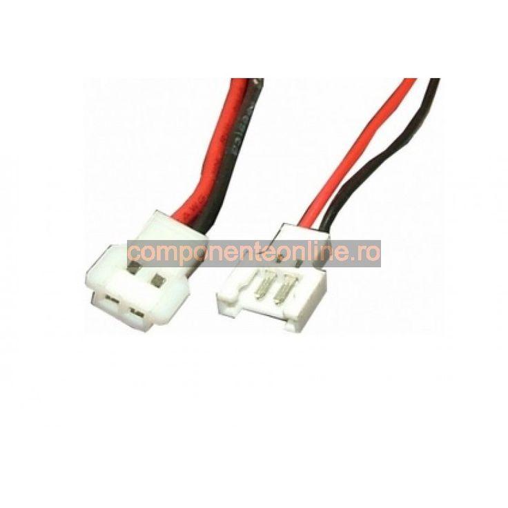 Cablu de semnal, 2 pini, 15cm - 173249