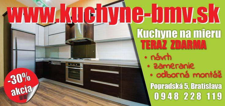 Kuchyne na mieru - BMV Kuchyne