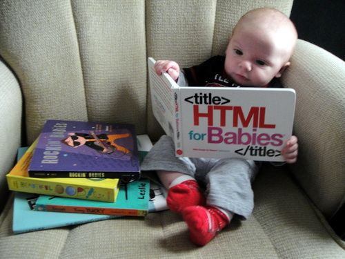 HTML for Babies: Volume 1 of Web Design for Babies: John C Vanden-Heuvel Sr: 9780615487663: Amazon.com: Books