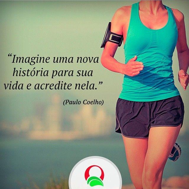 Só você pode reescrever a sua história! #vida #saúde #fitness #dieta