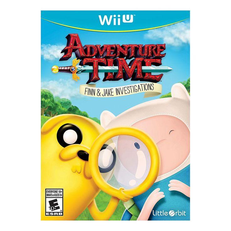 Adventure Time: Finn & Jake Investigations for Wii U, Multicolor
