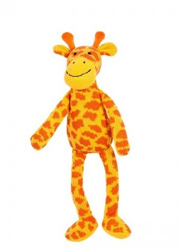 Lily & George Giraffe Trooper Knitted Soft Toy