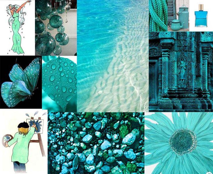 Julie Howlin Aura Soma Inspiration Equilibrium bottle #43 Turquoise Creativity