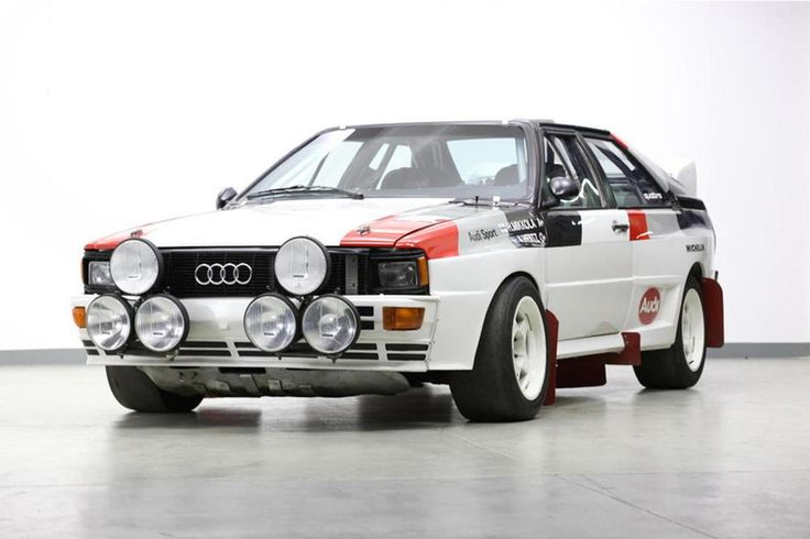 Audi Quattro A1 rally car //