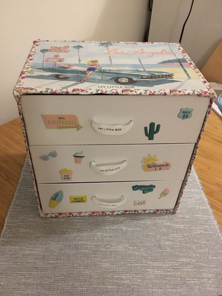 DYI - makeup drawer #Mylittlebox #diy  #makeup