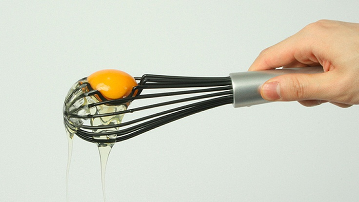 Confidently Crack Your Eggs With a Yolk Separating Whisk