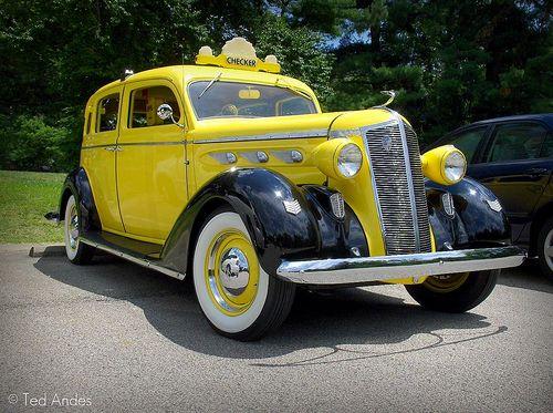 Best Checker Cab Images On Pinterest Vintage Cars Automobile