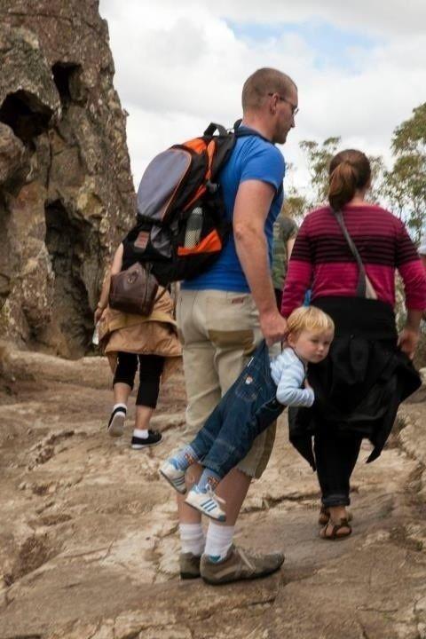Este padre que quiere que su hijo aprecie las actividades al aire libre. | 24 Personas que realmente est�n haciendo un buen trabajo criando a sus hijos