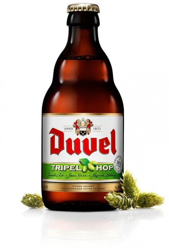 Cerveja Duvel Tripel Hop 2013 (Sorachi Ace), estilo Belgian Golden Strong Ale…