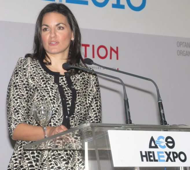 Kefalogianni Aims For A Common Communication Strategy With Greece's Regions