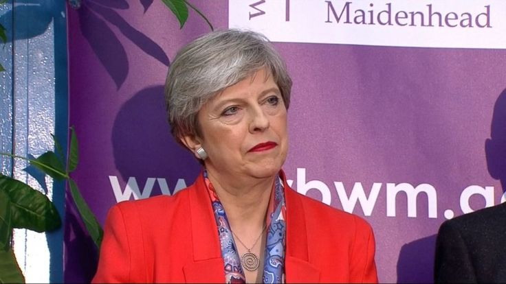 Now Playing: Theresa May loses conservative seats in UK election       Now Playing: Theresa May to seek to form government despite losing majority       Now Playing: Voters head to polls for UK elections       Now Playing: Young Londoner expresses support for Labor Party       Now Playing:... - #Form, #Government, #Losing, #Seek, #Theresa, #TopStories