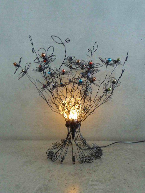 Lampes - Sylvouplait - Objets de décoration en fil de fer - Penthaz