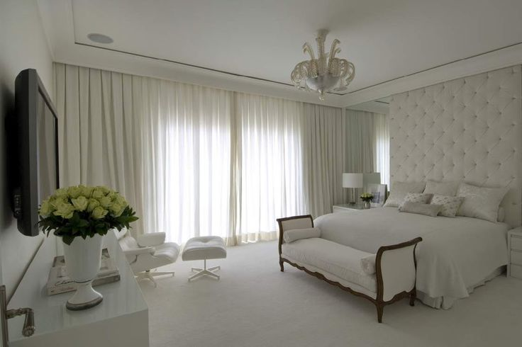 White bedroom Beautiful bedroom