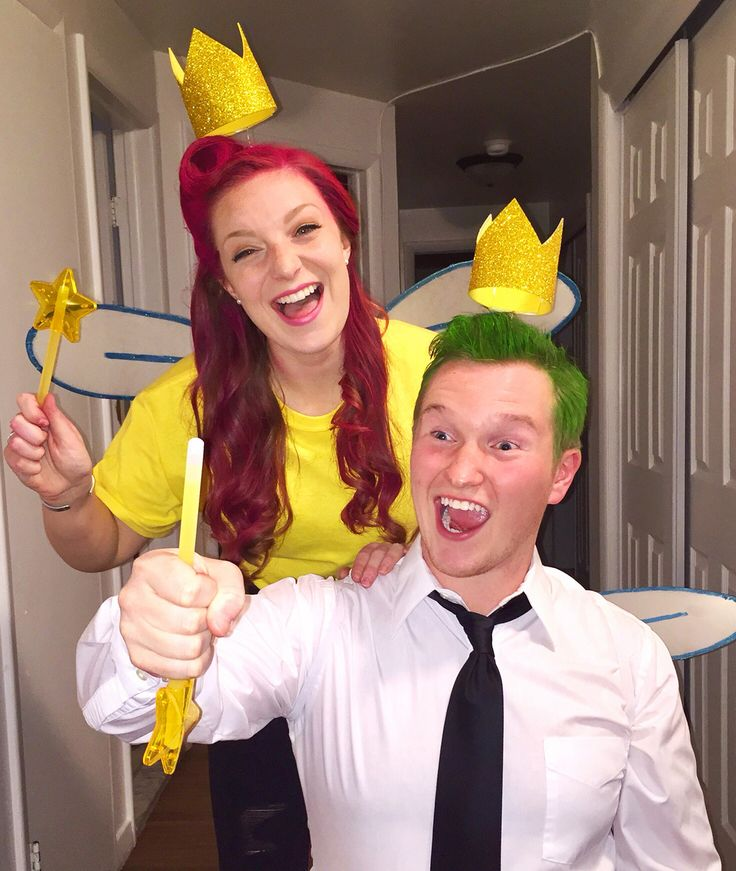 Cosmo and Wanda Fairly Odd Parents DIY Halloween Costume